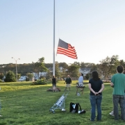 VETERAN FLAG RAISING